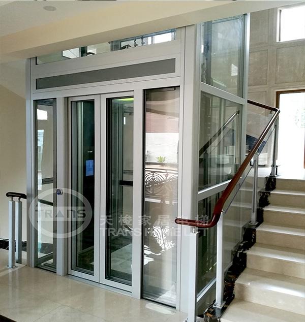 和平上东别墅电梯安装